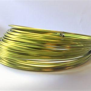 Aludraht Apfelgrün