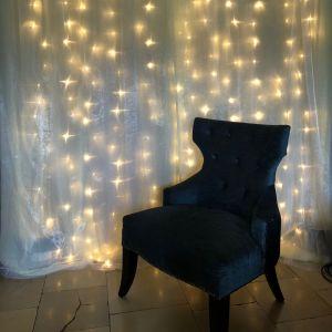 Fotobooth Dekowand light
