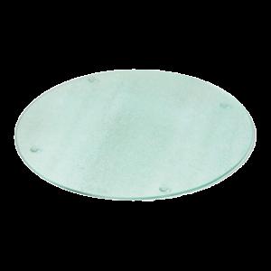 Glasplatte kupferrand