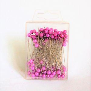 Perlenstecknadeln pink