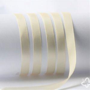Satinband-creme- 6mm