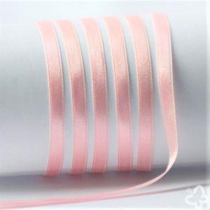 Satinband-rose - 6mm