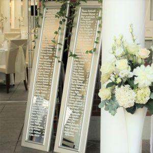 Spiegel Silvia Maxi mit Loui Philipe auf Hochzeitfeier
