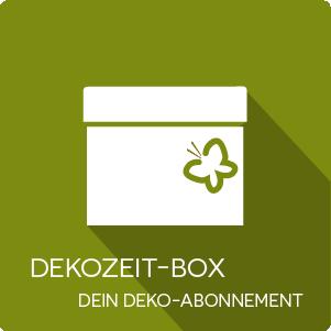 Dekozeit-Box als Abonnement | exklusiv bei dekozeit.com